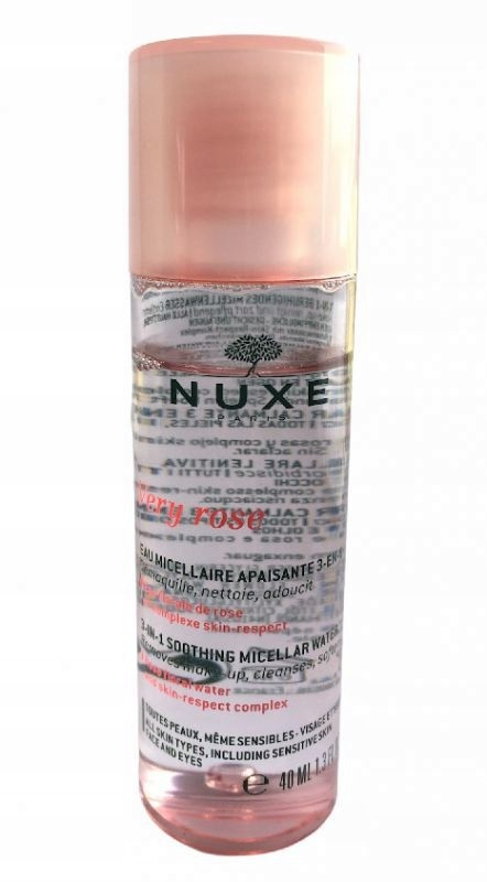 Nuxe Very Rose Woda Micelarna Różana 3W1 Mini 40ML