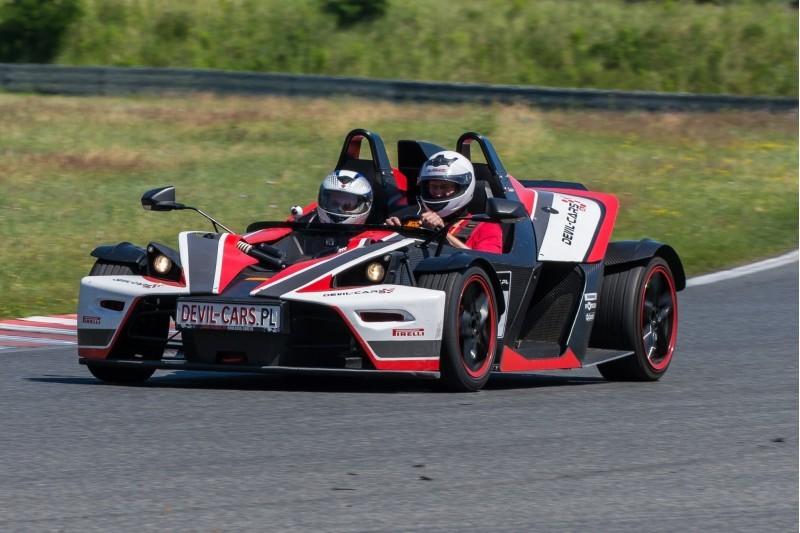 go racing KTM X-BOW vs Subaru Impreza WRX : Ilość okrążeń - 4, Tor - Tor Olsztyn, Usiądziesz jako - Kierowca