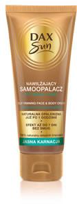DAX Cosmetics Sun Nawilżający samoopalacz do twarzy i ciała do jasnej karnacji, 75 ml 5900525057679