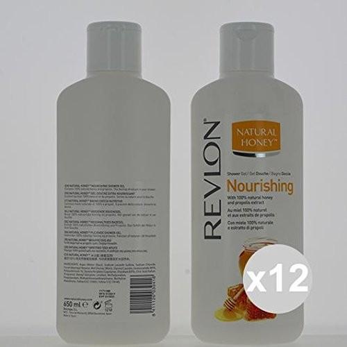 Revlon Natural Honey żel pod prysznic/żel pod prysznic Nourishing (pożywna) z ekstraktu z 100% naturalnej miód and propolis 650 ML