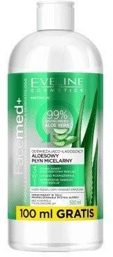 Eveline Facemed+ Aloesowy płyn micelarny 3w1 500ml 42592-uniw