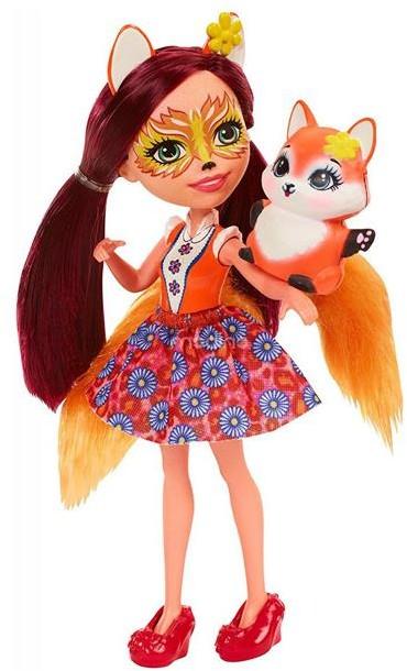 Mattel Enchantimals + zwierzątko Felicity Fox DVH89
