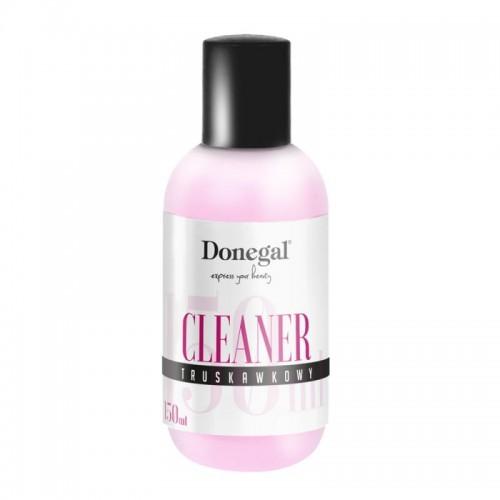 Donegal Cleaner truskawkowy do manicure hybrydowego 2485 150ml