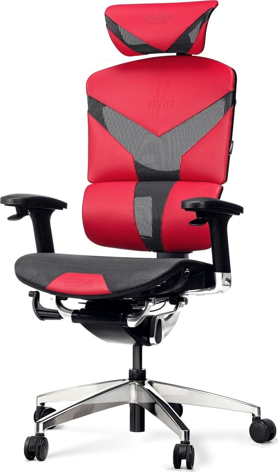 Diablo Chairs V-Dynamic Karmazynowy (V-DYNAMICKAR)