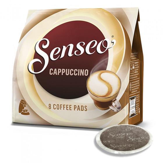 Senseo JDE kawa w saszetkach Jacobs-Douwe Egberts LT Cappuccino, 8 szt. Cappuccino