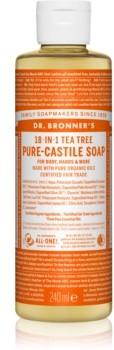 Tea Tree Dr Bronners Dr Bronners uniwersalne mydło w płynie 240 ml