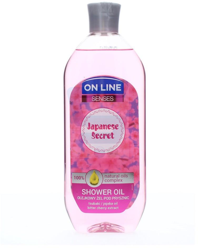 On Line Senses Olejkowy żel pod prysznic Japanese Secret 500 ml