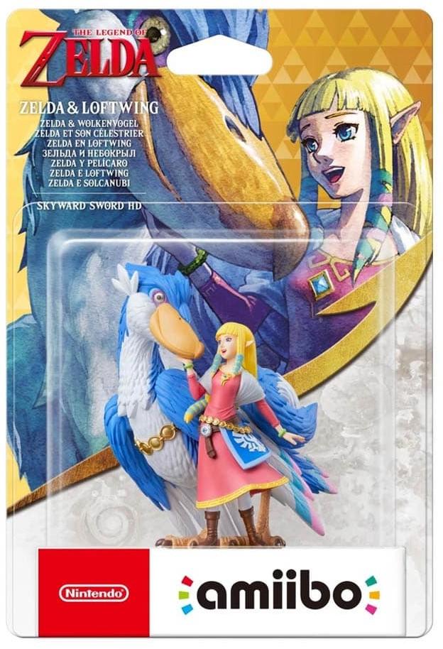 Nintendo Zelda & Loftwing The Legend of Zelda Skyward Sword HD Figurka Amiibo Warszawa
