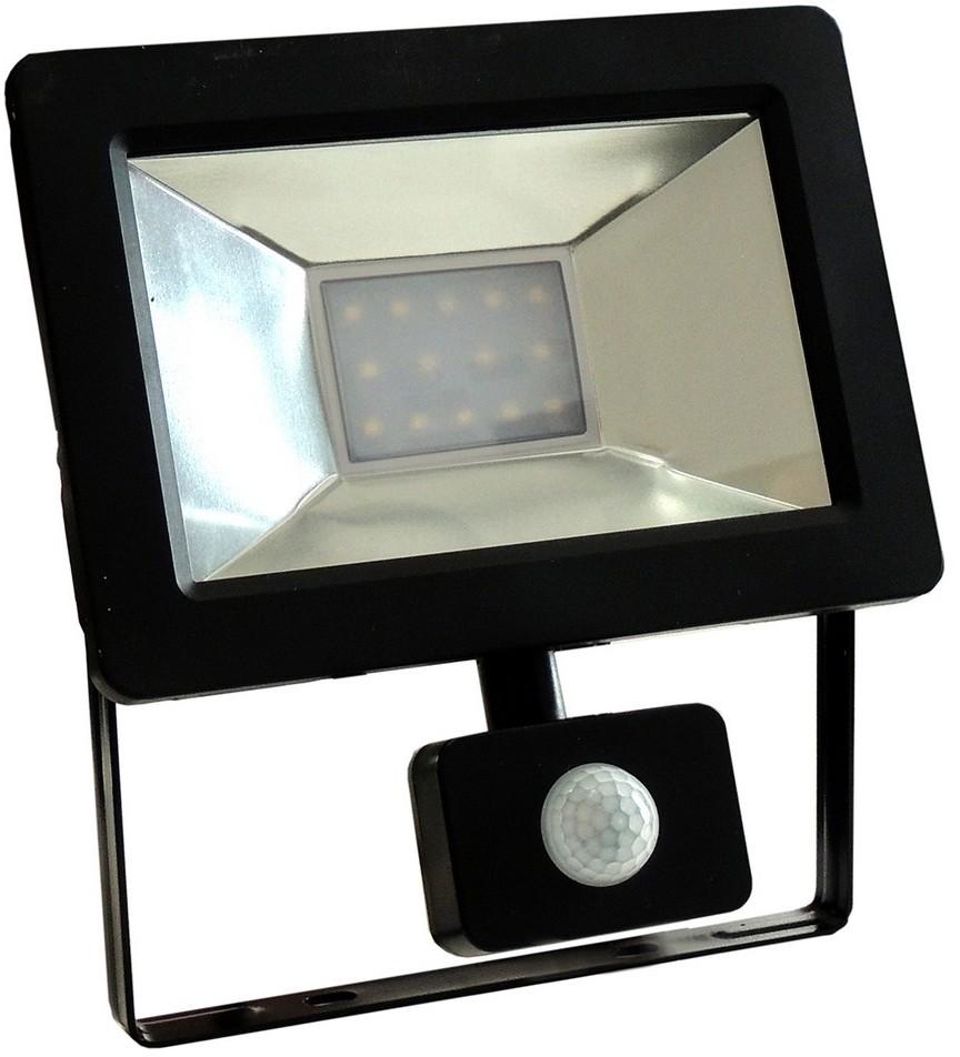 Wojnarowscy LED Reflektor z czujnikiem NOCTIS 2 SMD LED/10W/230V IP44 650lm czarny