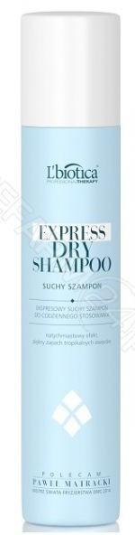 Lbiotica Professional Therapy Express ekspresowy suchy szampon o zapachu owoców tropikalnych 200 ml + Professional Therapy spray nabłyszczający do włosów 200 ml d.w 12.2018 GRATIS! |