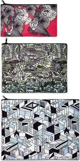 Loqi Saszetki Zip Pockets 3 szt. Pen Art zp.pe