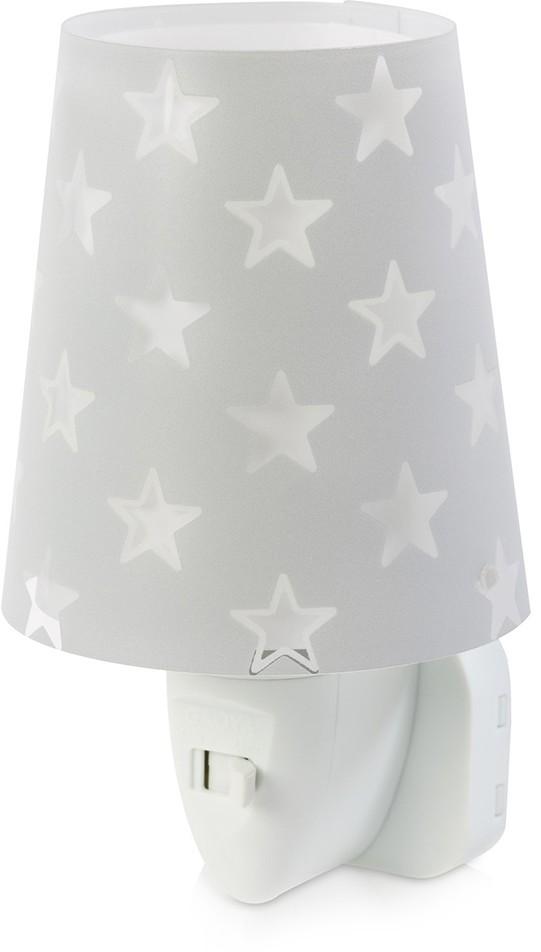 Dalber D-81215S - LED Lampka dziecięca nocna STARS 1xLED/0,3W/230V