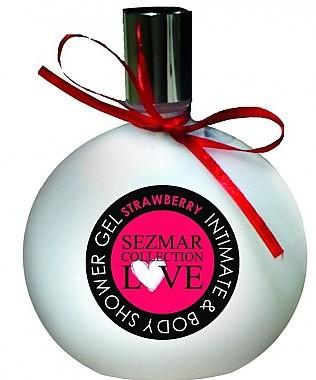 Hristina Cosmetics Żel pod prysznic i do higieny intymnej Truskawka -  Sezmar Love Strawberry Intimate & Body Shower Gel