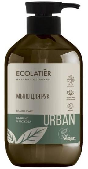 Eva Natura Ecolatier Ecolatier URBAN do rąk Bazylia i jojoba 400ml