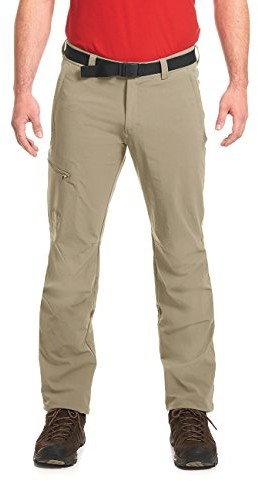 Maier Sports Roll-Up spodnie trekkingowe NIL składa się z 90% PA 10% EL w 32 rozmiarach, spodnie/funkcja/spodnie trekkingowe w zestawie: na zewnątrz, BI-elastyczny, szybko schnie i może być stosowany 132001
