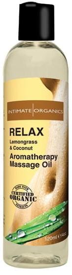 Intimate Organics Relaksujący olejek do masażu - Intimate Organics Relax Massage Oil 120 ml IN013A [6433225]