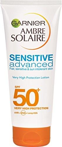 Garnier Balsam do Ambre Solaire Sensitive Advanced słońca, LSF 50+, 200ML 3600541271586