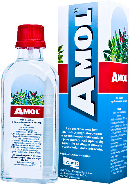 NYCOMED POLSKA Sp. z o.o. AMOL 250 ml 4028603