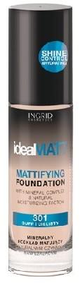 Ingrid Podkład mineralny matujący Ideal Matt nr 300 30ml Verona