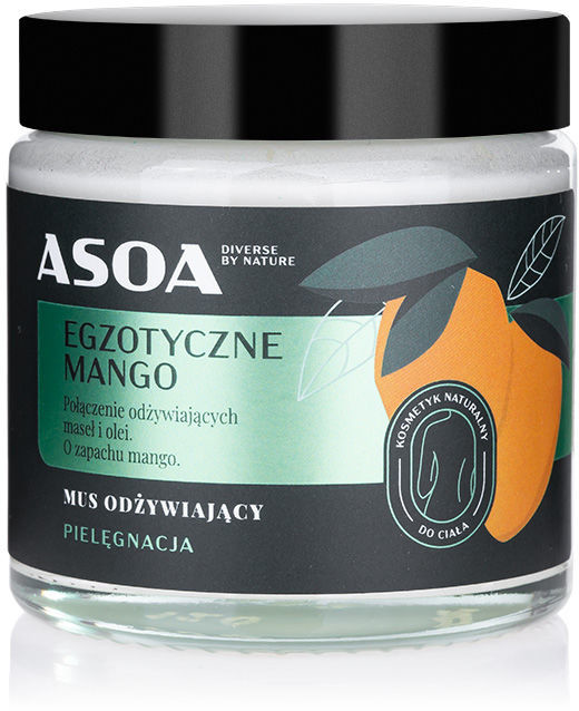 Mango Asoa ASOA Mus Odżywiający Egzotyczne 120ml ASOA-9089