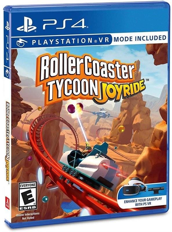 Rollercoaster Tycoon: Joyride (GRA PS4 VR)