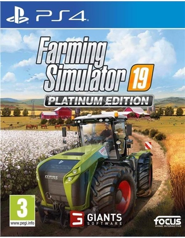 Farming Simulator 19 Edycja Platynowa (GRA PS4)