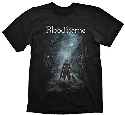 Gaya Entertainment Bloodborne T-Shirt Night Street, kolor: czarny  czarny , rozmiar: medium GE1712M