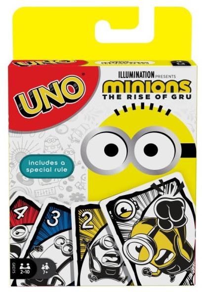 Mattel UNO Minionki
