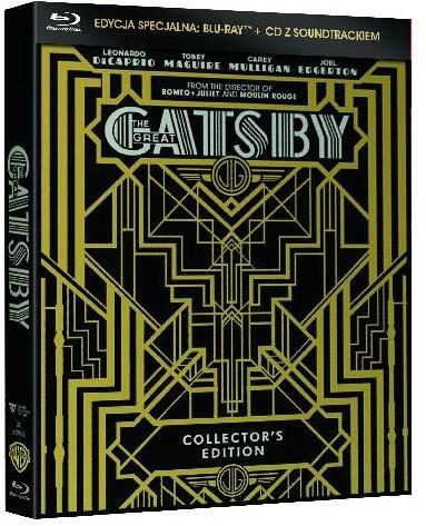 Wielki Gatsby (edycja kolekcjonerska z muzyką z filmu)
