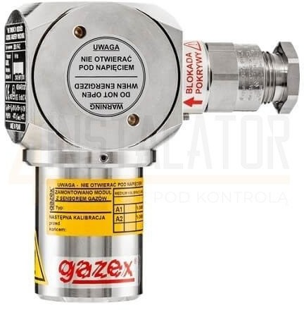 GAZEX Dwuprogowy detektor gazu DEX-12/N GAZEX do wykrywania metanu 0DEX-12/N