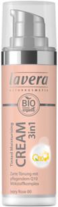Lavera Tinted Moisturising Cream 3in1 With Q10 Krem tonujący z koenzymem Q10 00 Ivory rose 30ml