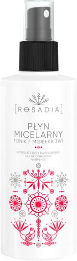 Rosadia Płyn micelarny / Tonik / Mgiełka 3w1 ROS 003