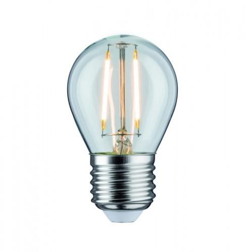 Paulmann LED Fil kropla 470lm E27 4,8WPrzezr ściem 2700K 230V 28692