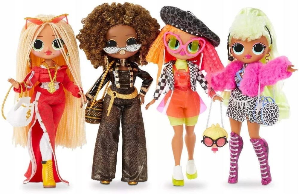 L.o.l Surprise 4-Pack Swag Diva Neonlicious Bee