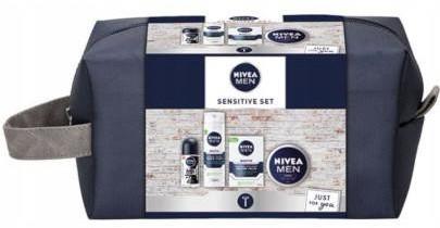 Nivea Polska Men Sensitive Set zestaw kosmetyków 4 sztuki 1141867