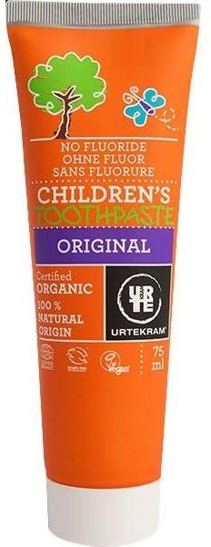 Urtekram Pasta do zębów dla dzieci BIO 75 ml eko-wital-5892