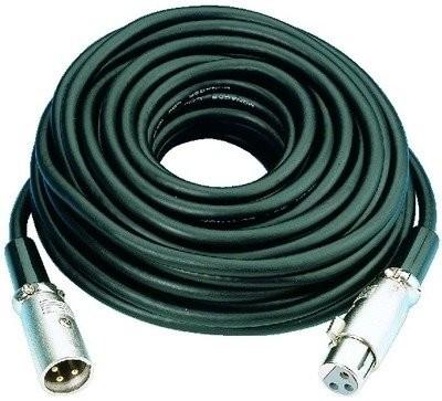 IMG Stage Line MEC-50/GE mikrofon kabla (wtyczka XLR/XLR-Kupplung) 0,7m Żółty O61690