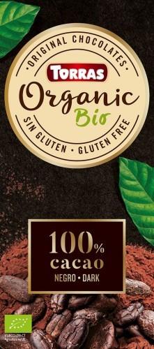 Continente bio - sonae Czekolada gorzka 70% BIO z kwiatem soli 100g 966-uniw