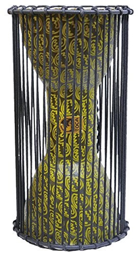 Toca TO804590 Talking Drum Freestyle African Mask 8x16