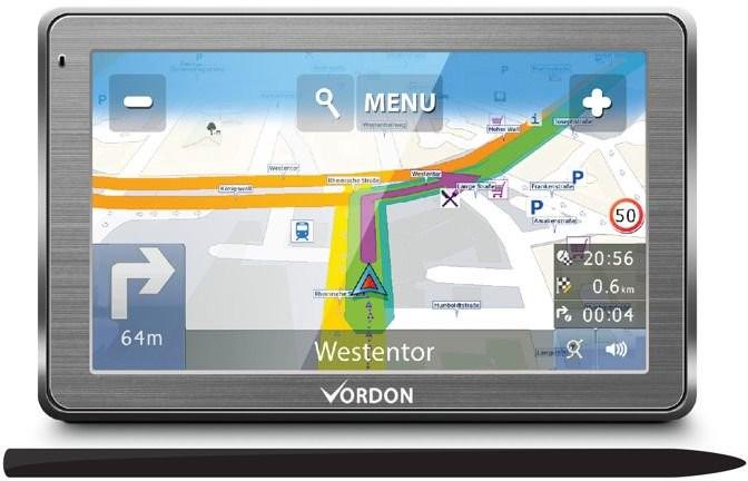 VORDON GPS 7 AV Europa (TNAWVORD7EUMAP)