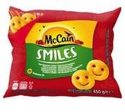 McCain Smiles Puree ziemniaczane formowane w kształt uśmi... buzi
