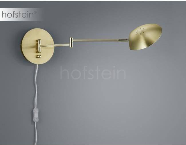Trio Oświetlenie Leuchten Calcio Lampa ścienna LED Mosiądz, 1-punktowy 272470108