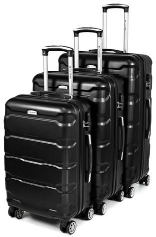 7150738046ba7 Sapphire Zestaw walizek podróżnych 3w1 Sapphire ST-110