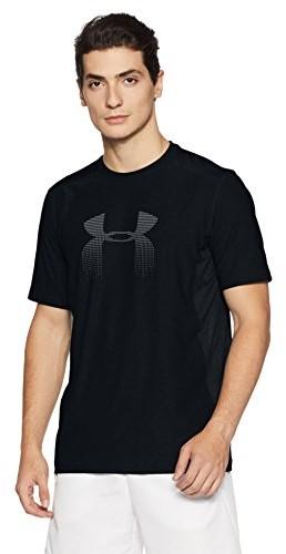 Under Armour UA RAID Graphic SS męska koszula z krótkim rękawem, czarny, l 1298816-001