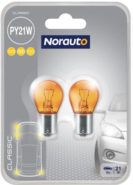 Norauto Żarówka PY21W 12V  Classic 2szt