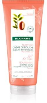 Klorane Cupuaçu Lait de Rose intensywnie nawilżający krem pod prysznic 200 ml