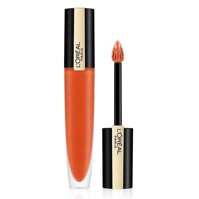 L'Oreal Paris L'OREAL Rouge Signature Liquid Lipstick 112 I Achieve 7ml 76008-uniw