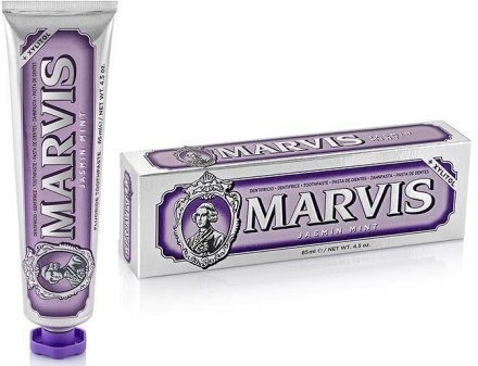 Marvis Pasta do zębów z ksylitolem Jaśmin i mięta - Jasmine Mint + Xylitol Pasta do zębów z ksylitolem Jaśmin i mięta - Jasmine Mint + Xylitol