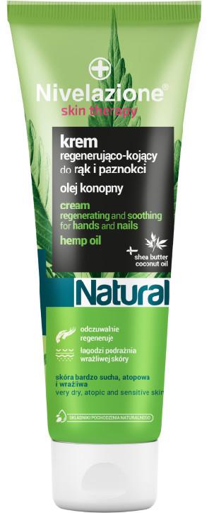 Nivelazione Skin Therapy NIVELAZIONE Skin Therapy Natural Regenerująco-kojący krem do rąk i paznokci z olejem konopnym 100 ml NIM0036