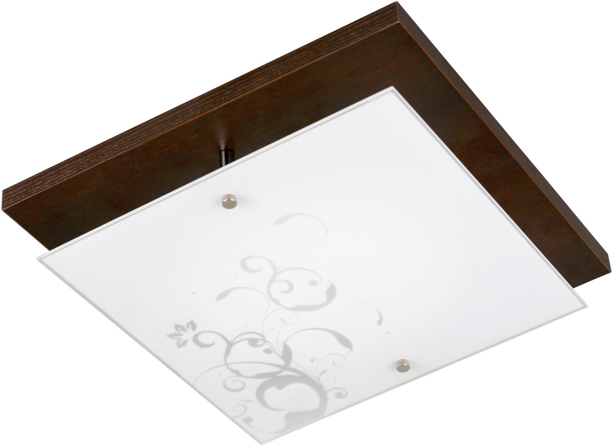 Lampex Plafon 198/D31 WEN Vetro Rosa D31 Wenge 198/D31 WEN